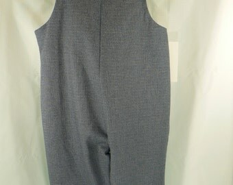 Long Overalls 1T  22 to 25 LBS plain or custom embroidered