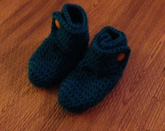 Snap-On Baby Booties