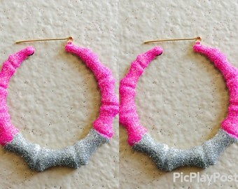 Barbie Bamboo Earrings