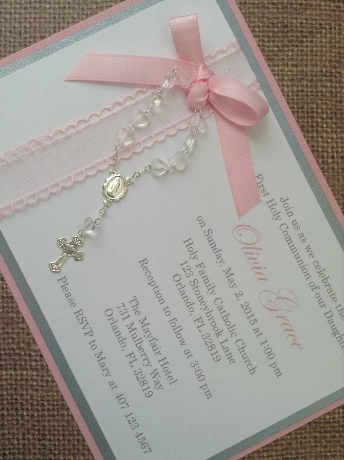 Beautiful Baptism Invitations for nice invitation example