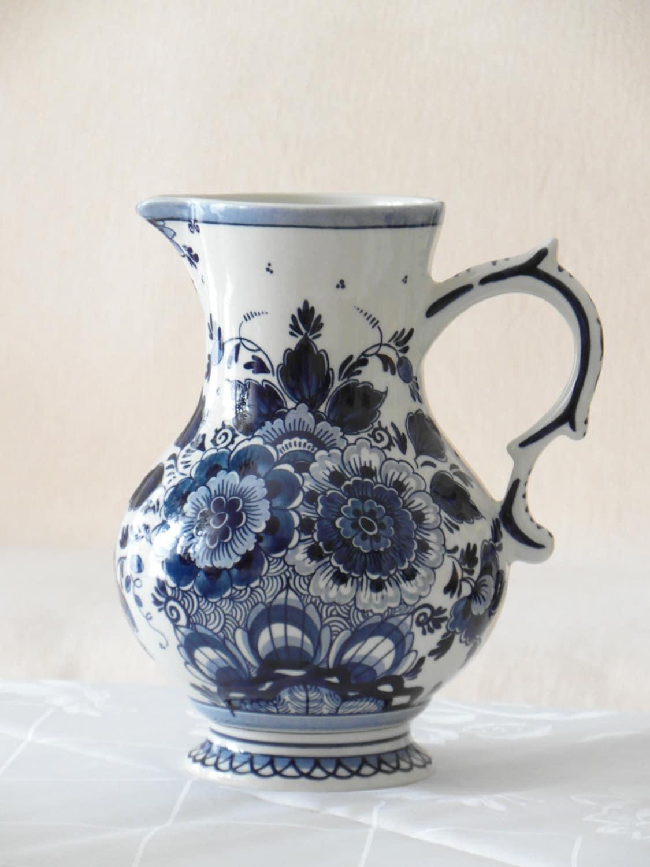 Sale Pitcher Original Royal Goedewaagen Holland Delft Blue