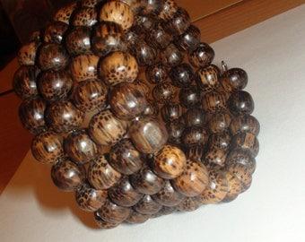 Wrap wooden bracelet.
