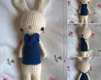 Harry the bunny / crochet amigurumi kids toy doll