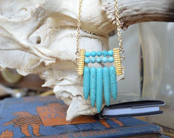 SALE Turquoise Island Necklace