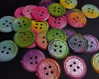 Die Cut, Mini Buttons               #ART-57