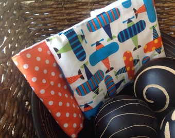 Adorable burp cloth set great baby shower gift