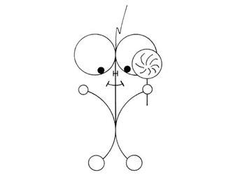 Lollipop, Lillipop - Inked Artwork
