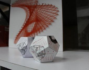 GeoDesk 3D Desk Calendar