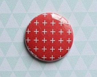 "Badge 1 ""whiter background Red"