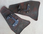 Starship Renegade Leather Hip Guards