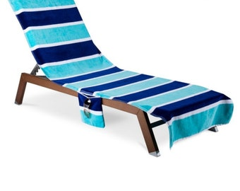 Personalized Lounge Chair Covers, Beach Chair Covers, Beach Towels, Graduation Gift Idea