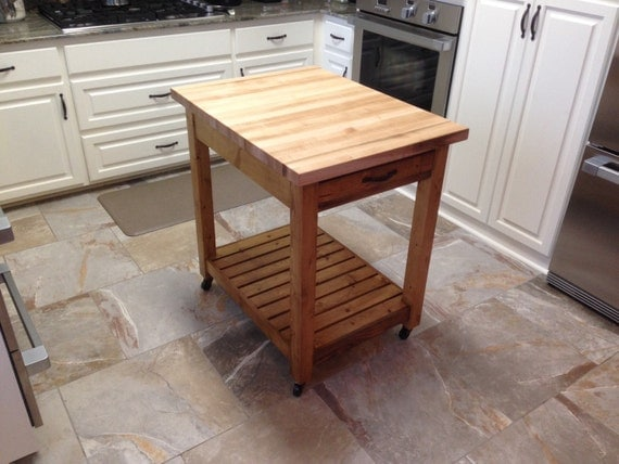 cutting board kitchen island items similar to small kitchen island with cutting board 17105