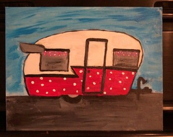 Vintage Trailer Painting