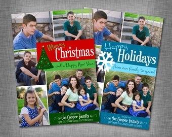Multiple Photo Christmas/Holiday Card