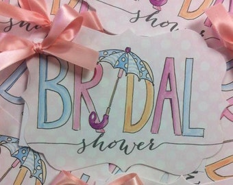 Bridal Shower Invitation Shower Invitation Bridal Shower Umbrella Invitation Shower Invitations Bridal Shower Invitation