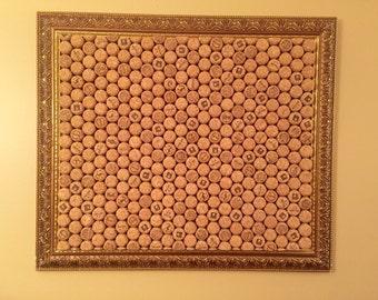 Champagne Cork Board