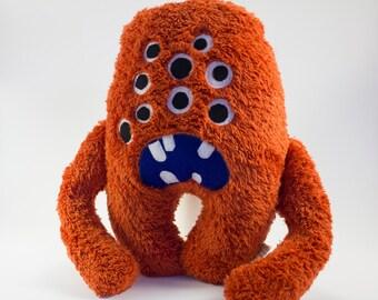 """Fur Monster Plush Doll WubDoll """"Mark"""""""