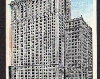 Postcard NYC Whitehall Building New York City, Unused, New York Postcard ,New York City Postcard, NY Postcard