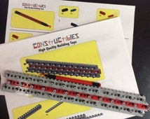 Lego Custom Rainbow Rubber Band Loom and Hook Made From Lego Parts & Instructions