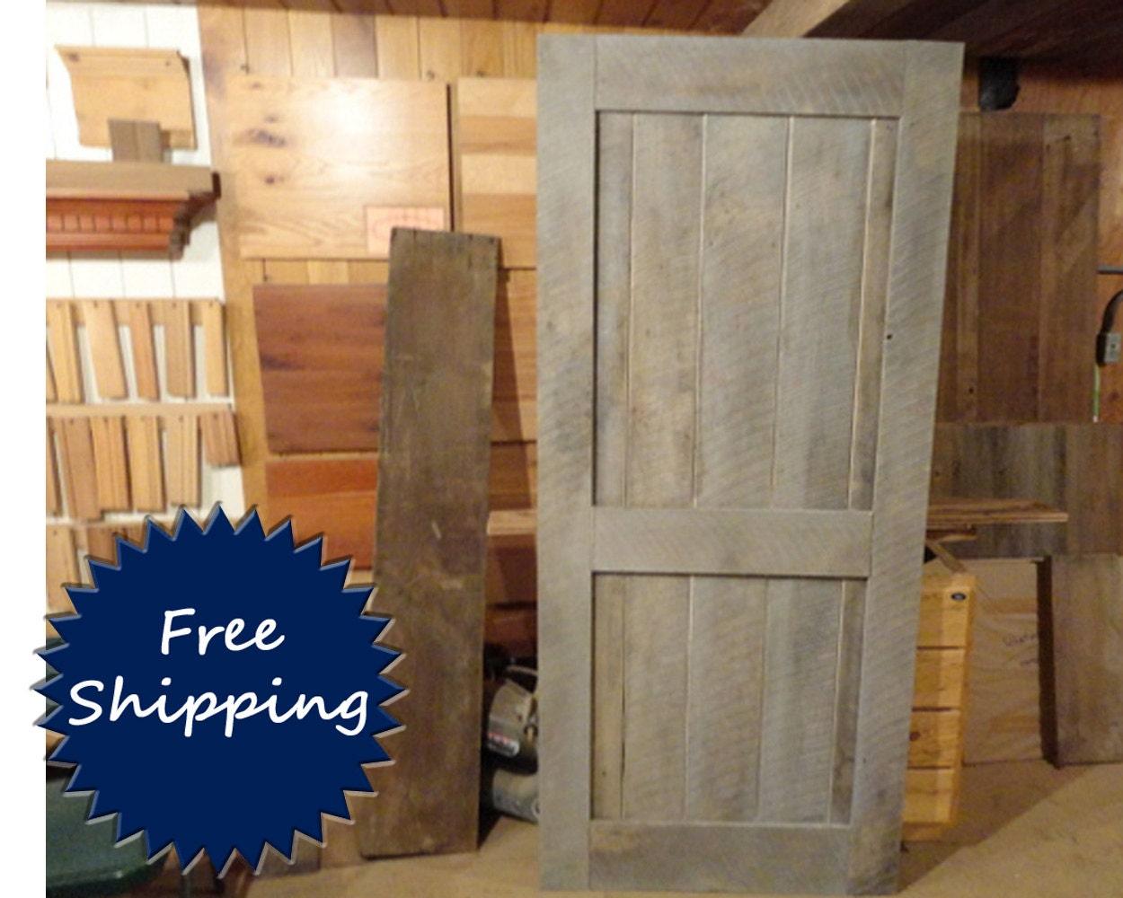 mid bar brace circle sawn barn door room divider made to order. Black Bedroom Furniture Sets. Home Design Ideas