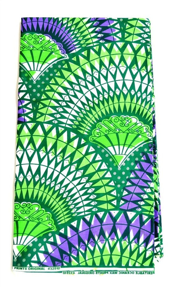 Fabric for sale by the yard green african dress by for Cloth for sale by the yard