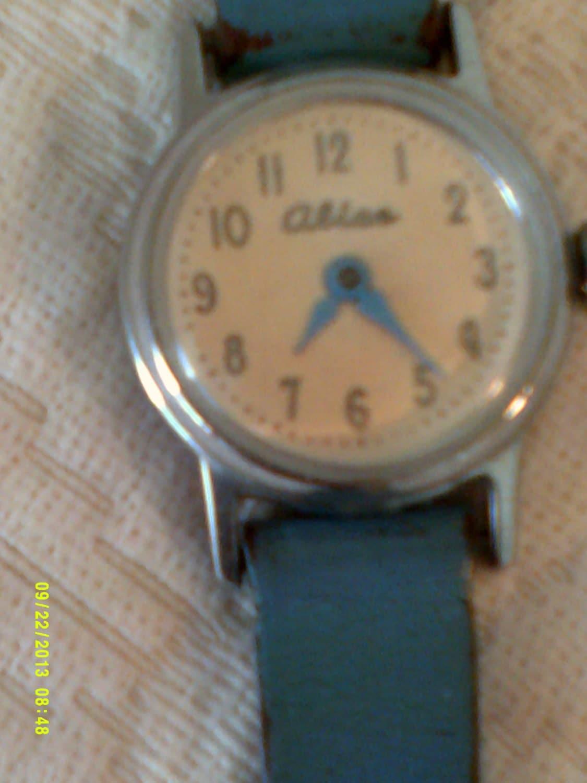 Vintage alice in wonderland watch