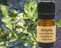 Amyris Essential Oil  5 ml, 10 ml or 15 ml