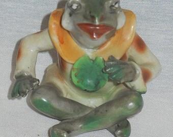 Vintage 1950s Occupied Japan frog Hard to Find