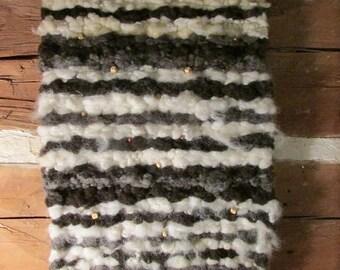 Natural Wool Fleece Wall Hanging