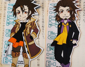Laminated Bookmark (Business card size) / TOX / Manga / Anime / Game