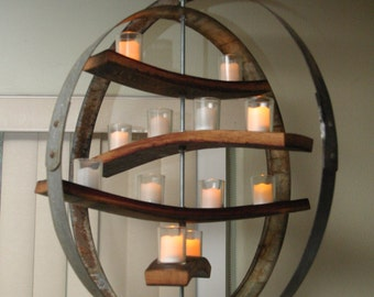 Four Tier Candle Chandelier
