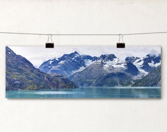 Mountains, Panoramic Photography, Boat, Seascape, Alaska Landscape