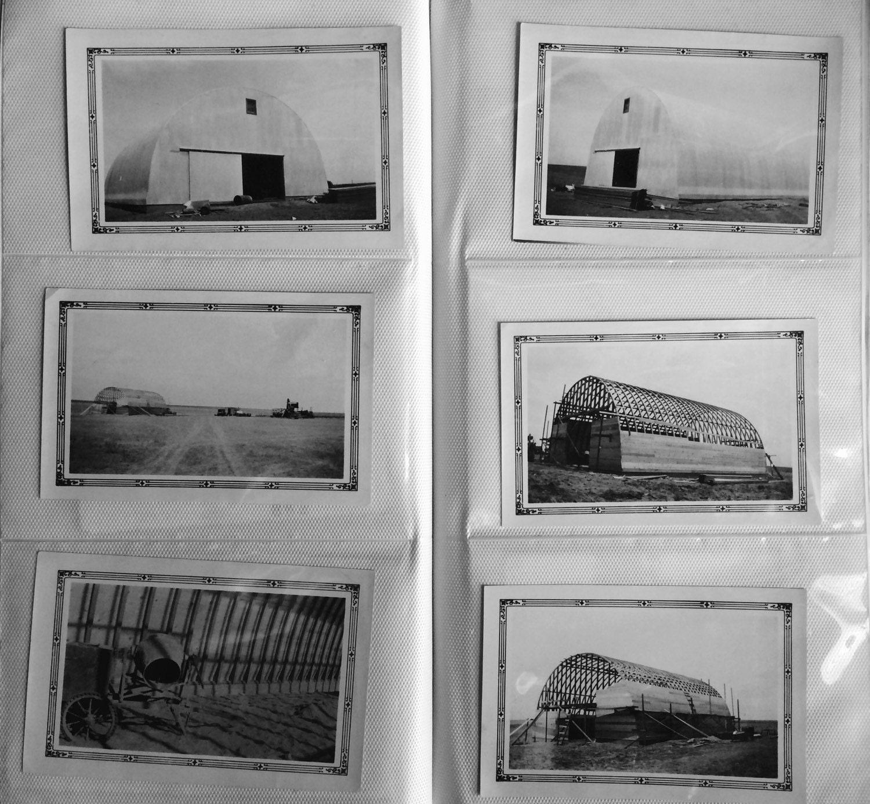Exterior: Quonset Hut Project Dodge City KS 6 Original VINTAGE Photos