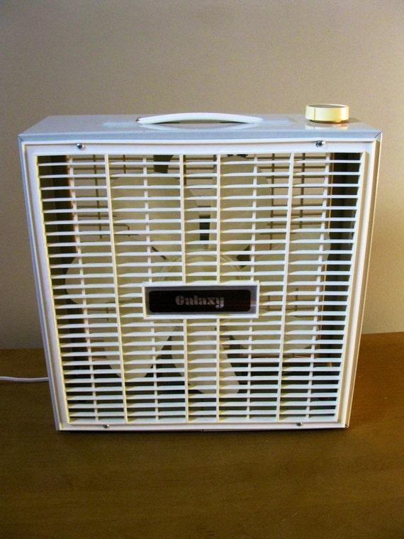 Galaxy Floor Fan : Galaxy metal box fan beige electric working