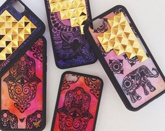 Wildflower HandMade Studded Case New For Iphone 5 6