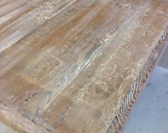 Restaurant table top, reclaimed wood dining table top,white wash,ADD YOUR BASE