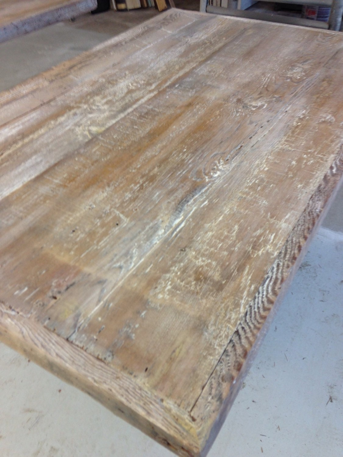 Restaurant Table Top Reclaimed Wood Dining Table Topwhite