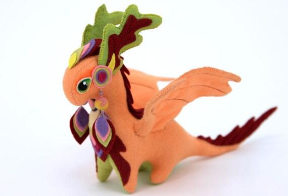 soft toy dragon fantasy plush animal textile toys soft. Black Bedroom Furniture Sets. Home Design Ideas