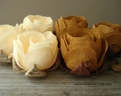 6 Fall Autumn Wedding Flowers, Rustic Fall Table Centerpiece, Brown Cream Flowers, Fall Table Flowers, Fall Autumn Wedding Decoration