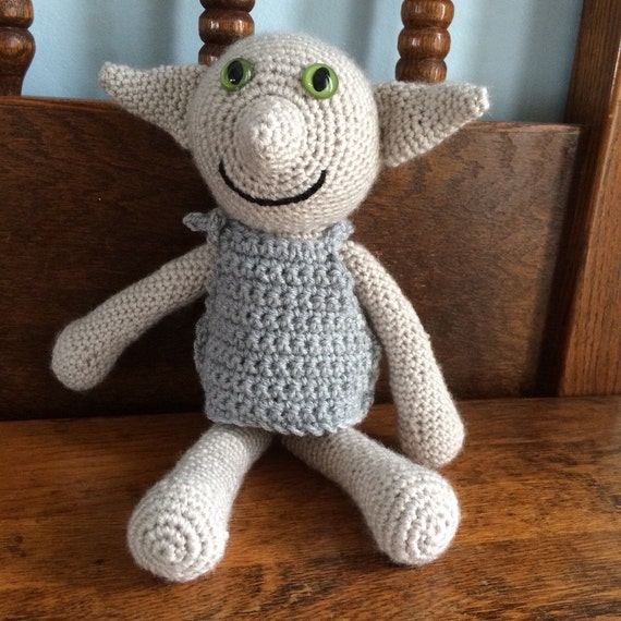 Dobby Harry Potter Amigurumi : Dobby House Elf Harry Potter Amigurumi by DesignsbyJLeedy