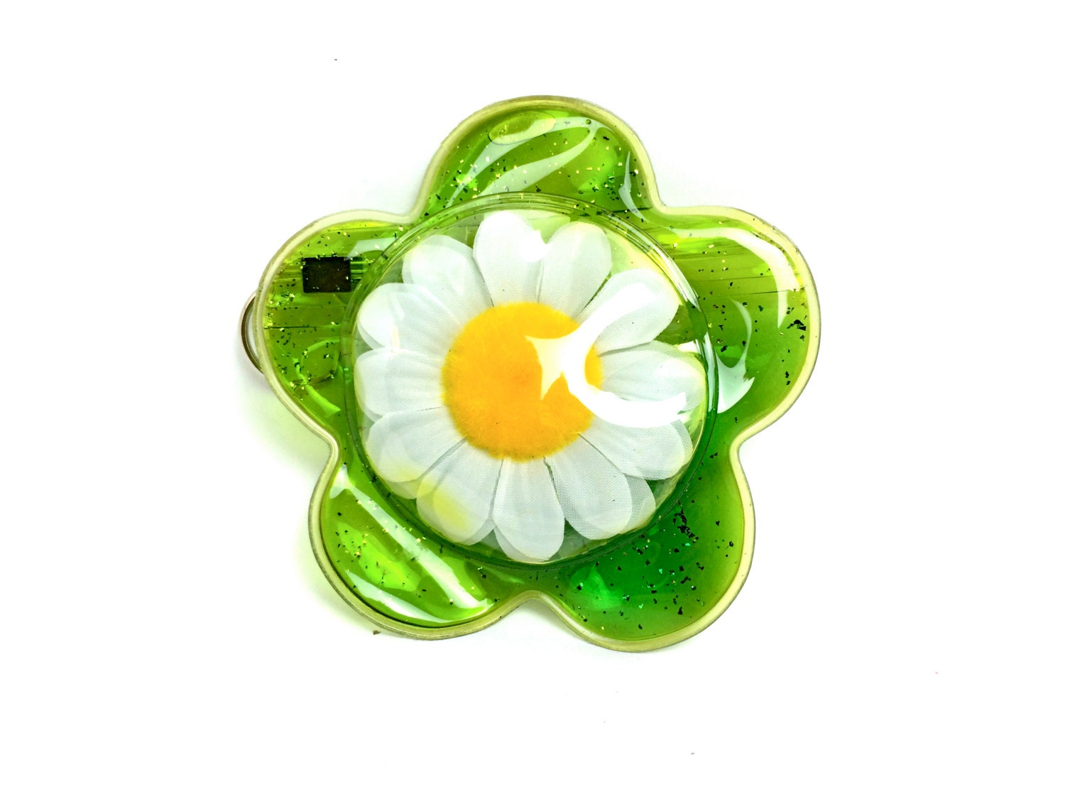 90's Jelly Daisy Coin Purse