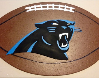 Carolina Panthers 3D Football Sign