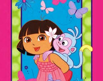SALE! Dora the Explorer Cotton Fabric by Springs Creative! [Choose Your Cut Size]