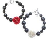 Tartan Twist Rose Bracelet