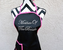 Mother of the Bride Apron . Mother of the Groom Apron . Mother of the Bride Gift . Mother of the Groom Gift