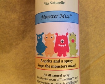 Monster Mist.  Help your child (and you) relieve bedtime anxiety with this wonderfully scented spray.