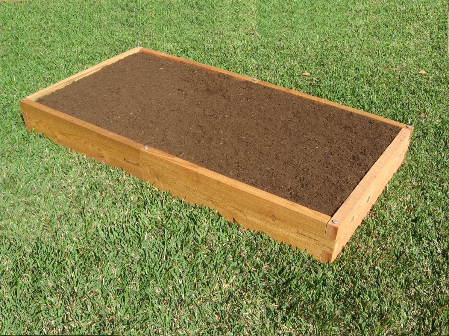 3x6 cedar raised garden bed Raised garden beds
