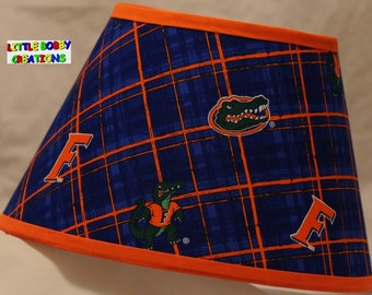 NCAA University of Florida Fabric Lamp Shade  (10 Sizes to Choose From!)