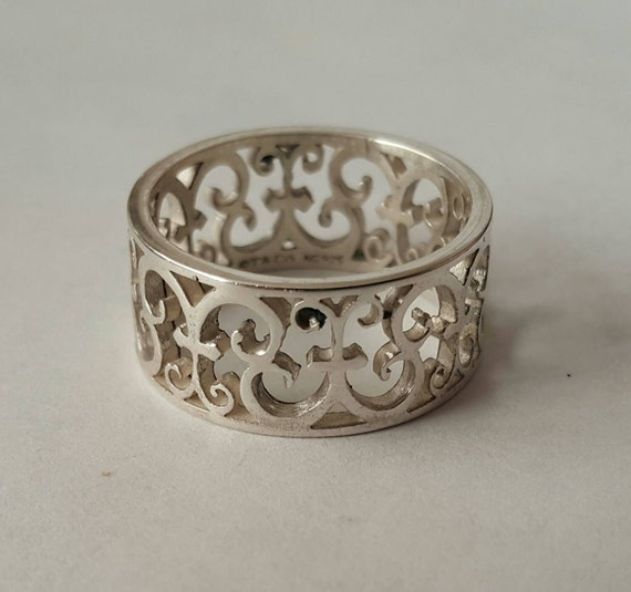 Authentic Scrolls: Authentic Rare Gorgeous Tiffany And Co Enchant Scroll Sterling