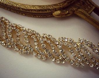 WOODLAND WEDDING HEADBAND, Gold Headband , Rhinestone Headband,Woodland Bridal Crown, Bridal Woodland headband
